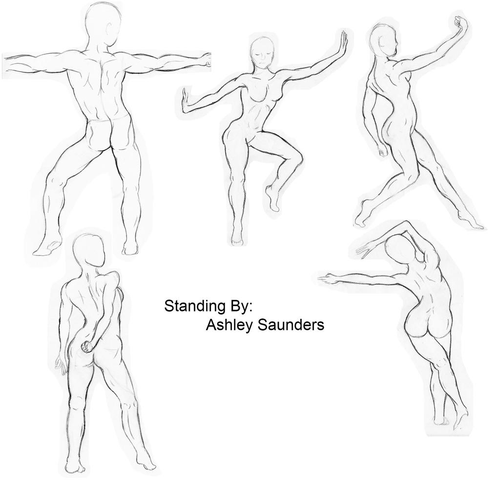 Figure It Out! Drawing Essential Poses The Beginners