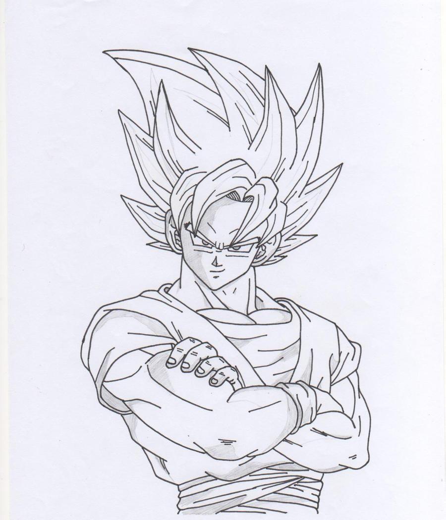 Goku SSJ2 by VegetaKTA on DeviantArt