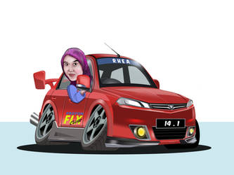 PROTON CARICATURE by yangmie