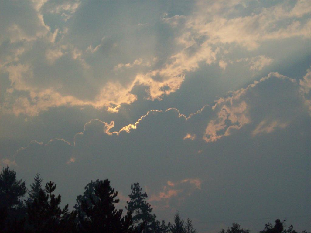Evening Sky by Lady-WynterFyre