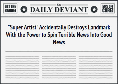 Terrible News