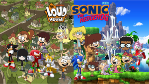 The Loud House x Sonic the Hedgehog