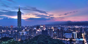 Taipei Evening by the-arkz