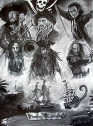 Pirates of the Caribbean by nobodysghost