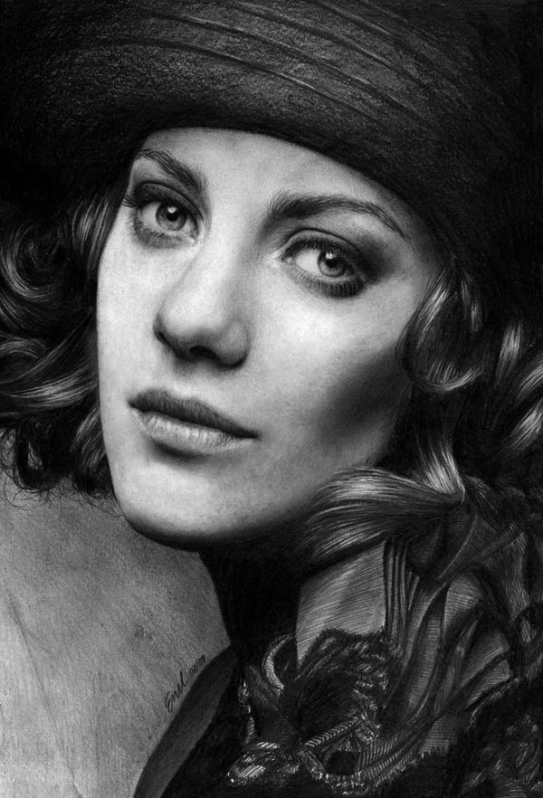 Marion Cotillard by nobodysghost