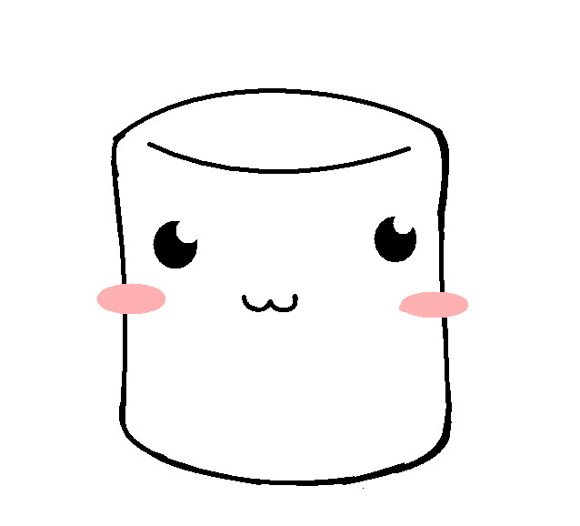 Chibi marshmallow base by sk8ingkacheek on deviantart for Cute marshmallow coloring pages
