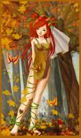 Nymphe de l'automne