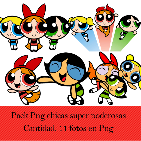 Pack Png Chicas Super Poderosas By Upinflames On Deviantart