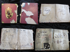 '3' Journal-All Completed Pages