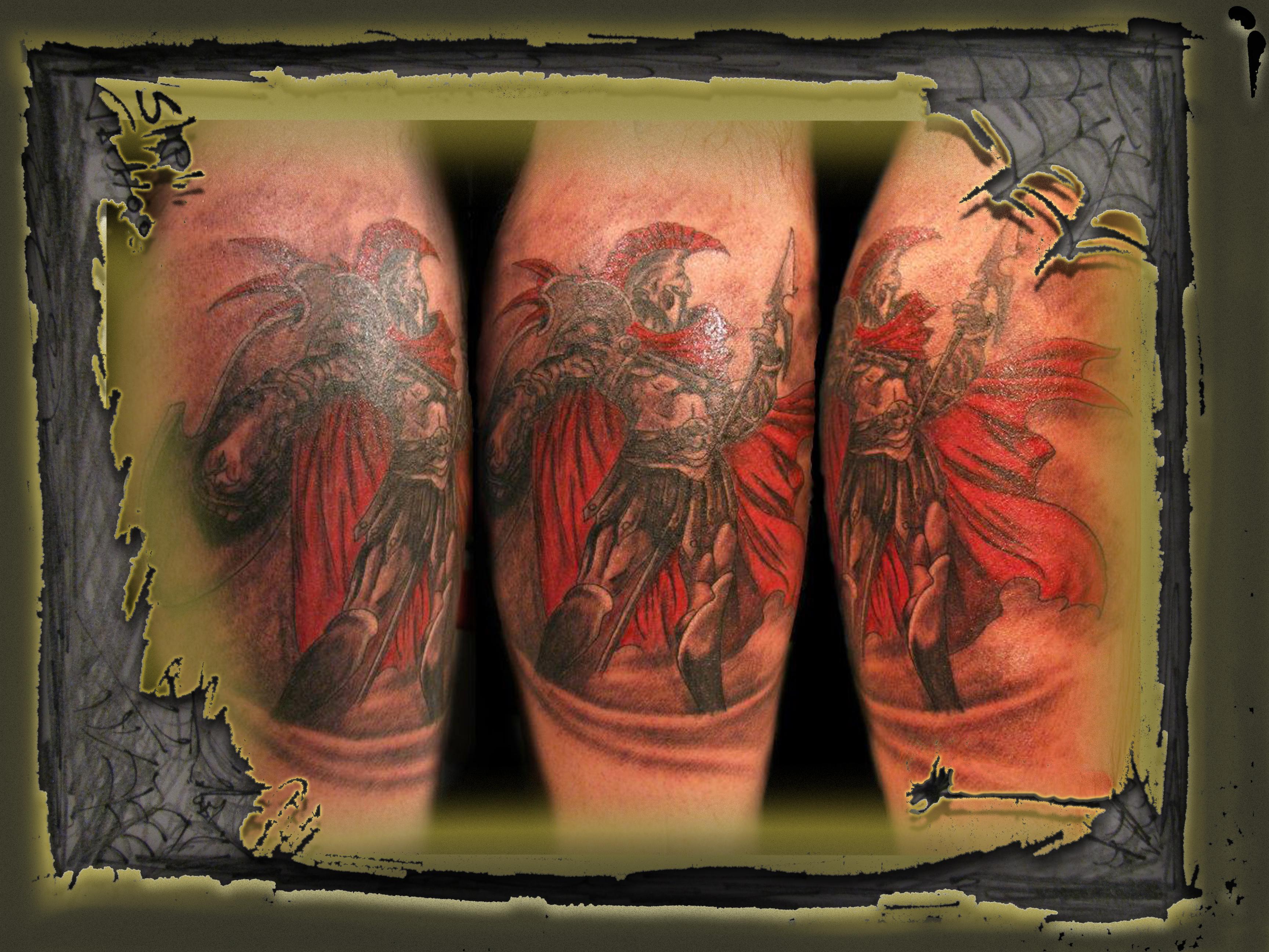 Ares God Of War By Slipitattoo On Deviantart