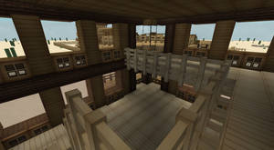 Top balcony inside Saloon
