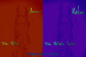 The Witch Acrimony And Her Sister Malice by Kingofbugsandthings