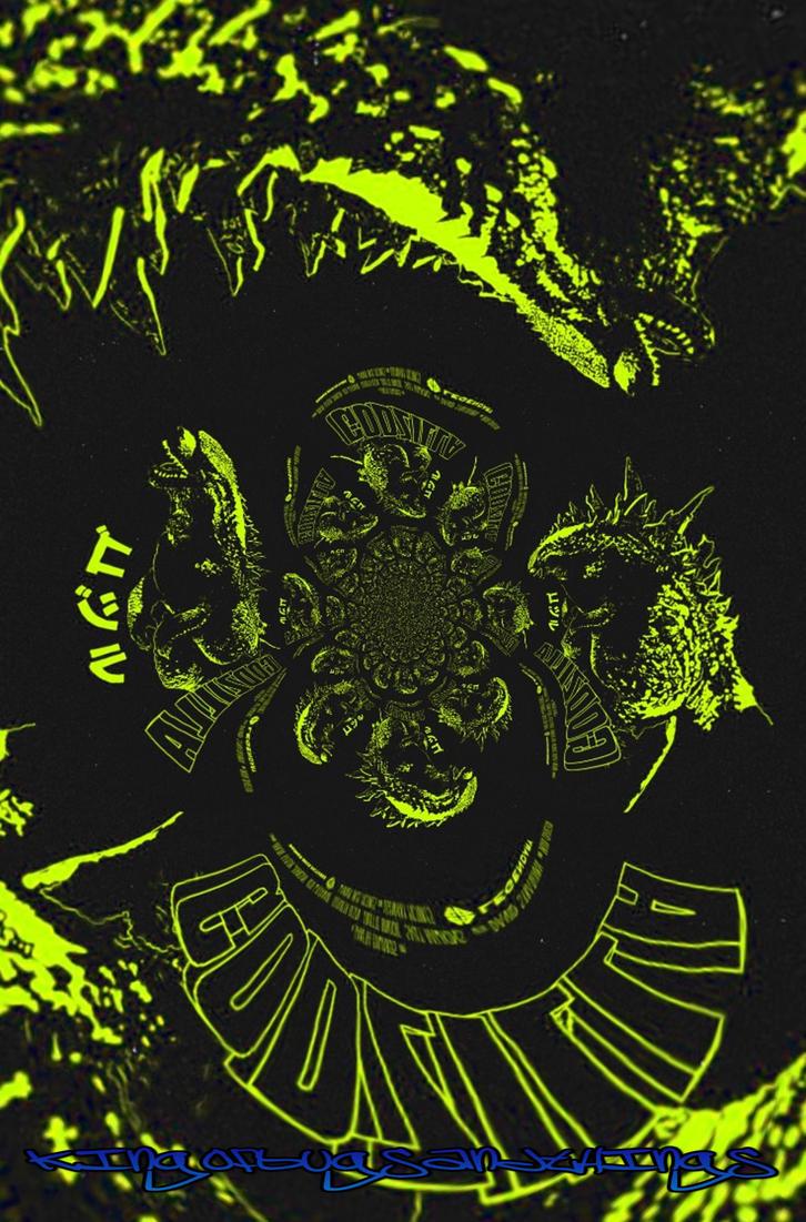 Godzilla Warp 1 by Kingofbugsandthings