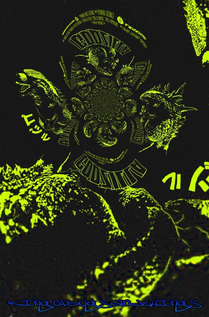 Godzilla Warp 2 by Kingofbugsandthings