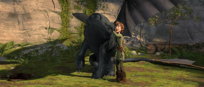 Hiccup-Toothless HD Wallpaper2