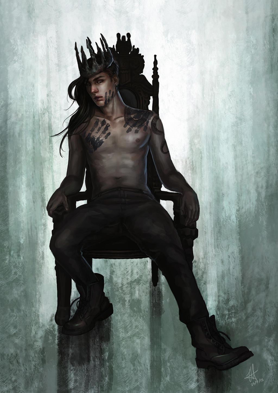 King by demonunicorn