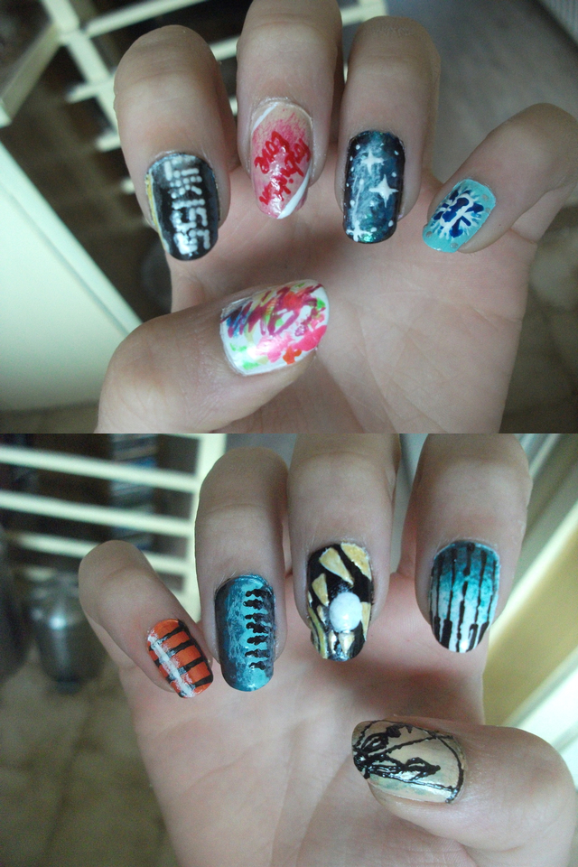 U-KISS eras nail art by xandevinho on DeviantArt