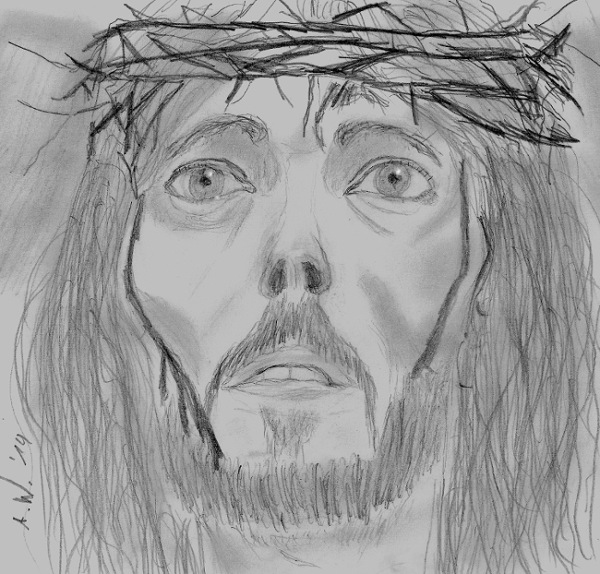 Jesus of Nazareth by BonBon95