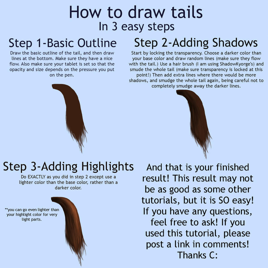 How To Draw A Horse Step By Step Youtube Tails By Atwee921 Tails By  Atwee921 On
