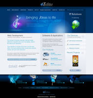 iTechies website by iTechies