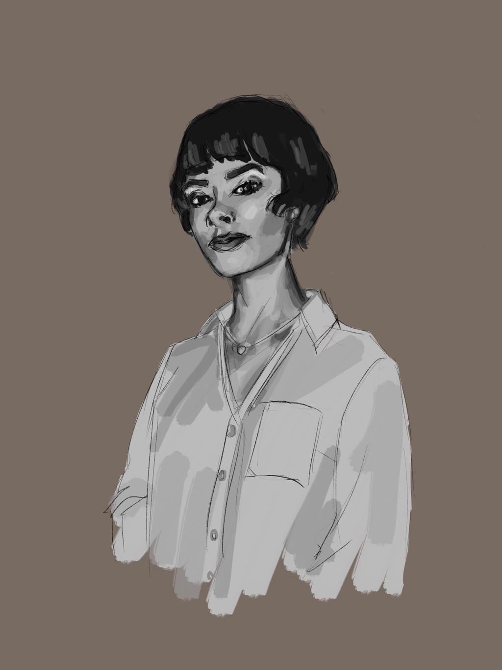 Portrait 52 by stevenf