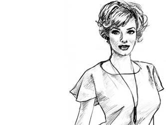 Joan Holloway, Mad Men by stevenf
