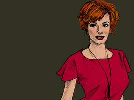 Joan Holloway (Christina Hendricks), Mad Men