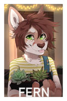 Fern MFC Badge by MonsterFennec