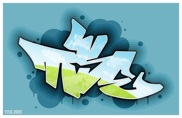 TISE - Graffiti by royal-crime