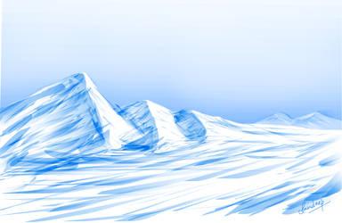 Frosty Hills by smartsendy34