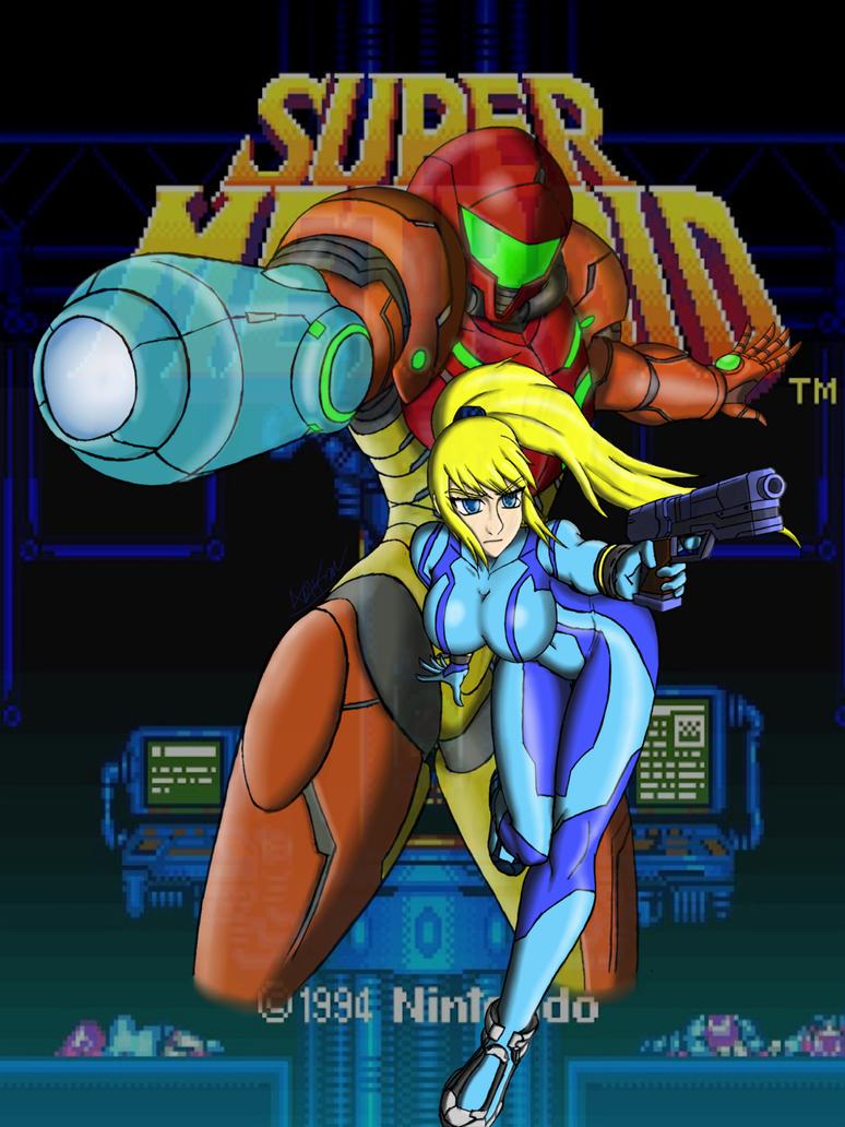 Super Metroid by Artman-eyt
