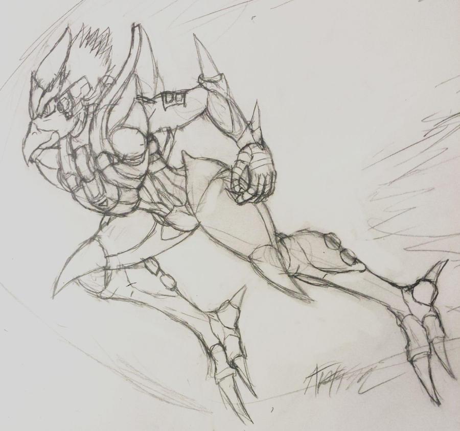 Alien Soldier by Artman-eyt