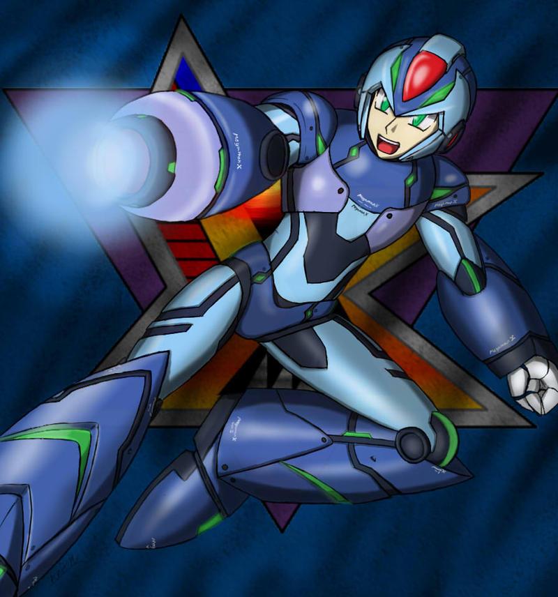 Megaman X by Artman-eyt