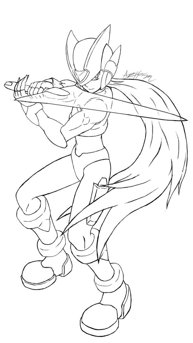 Zero drawing by Artman-eyt