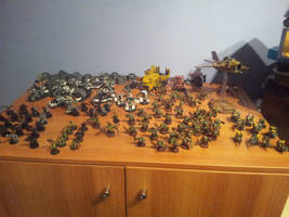 Ork Army 1 by Stefoserpent