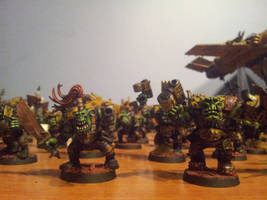 Ork Army 2 by Stefoserpent