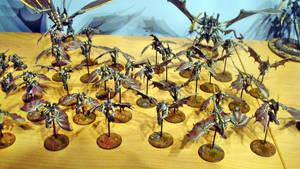 Hive Fleet Daedalus Gargoyle Swarm