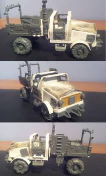 Scratch-Built Ork Trukk