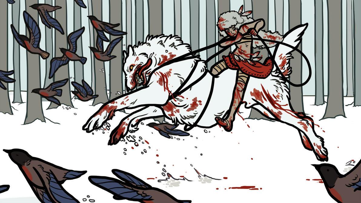 Wolf Tamer by strangelykatie