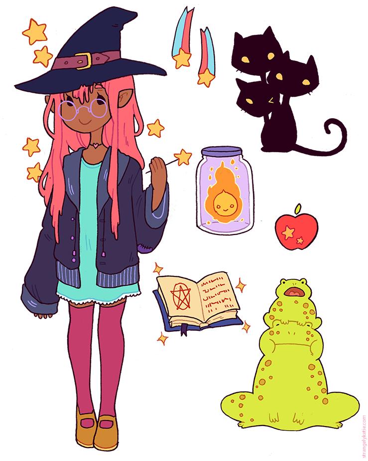 Witching Essentials by strangelykatie