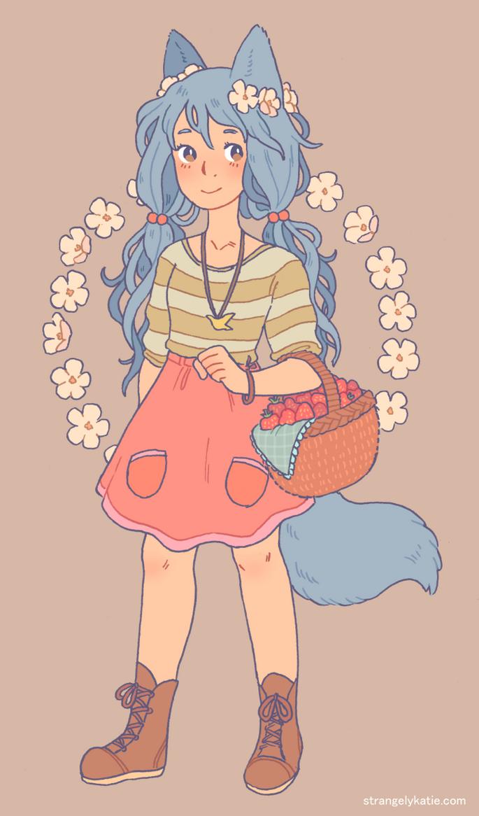 Wolf Girl by strangelykatie