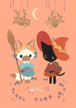Cat Witches