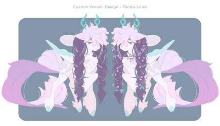 [YENOMI] Custom - Panda-Lilies