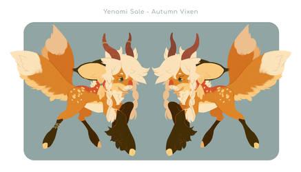 [YENOMI] Autumn Vixen Sale - CLOSED
