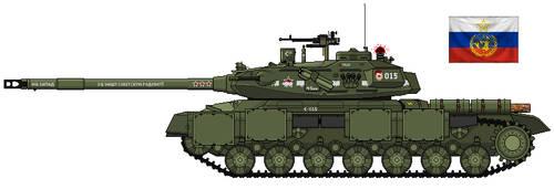 IS-15U Heavy Main Battle Tank by Lord-Vanaduke