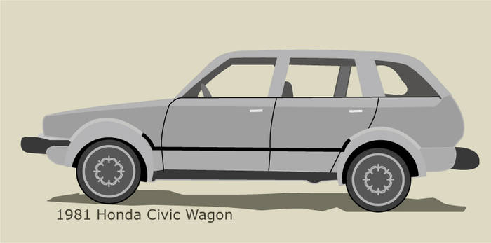 '81 Honda Civic Wagon