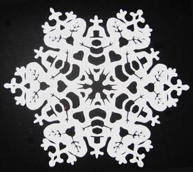 Snowman snowflake
