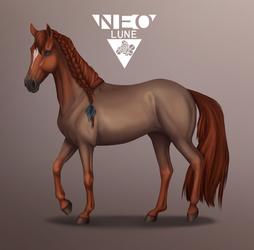 Overpaint ~ Strawroan by NeoluneRose