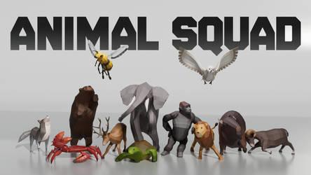 Animal Squad ~ Game Prototype by NeoluneRose