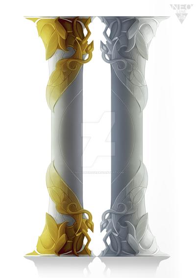 Columns of Ausolria by NeoluneRose